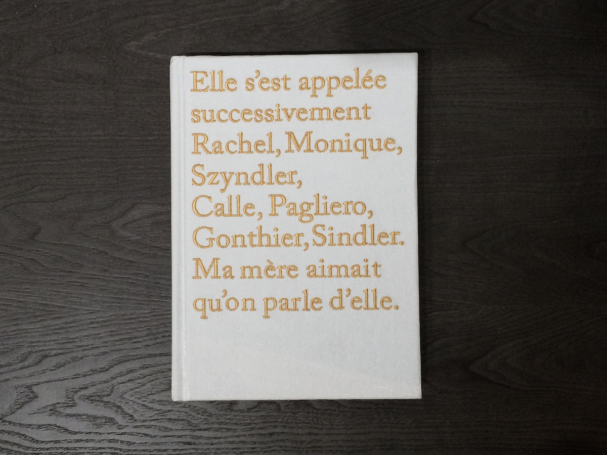 Sophie Calle Book