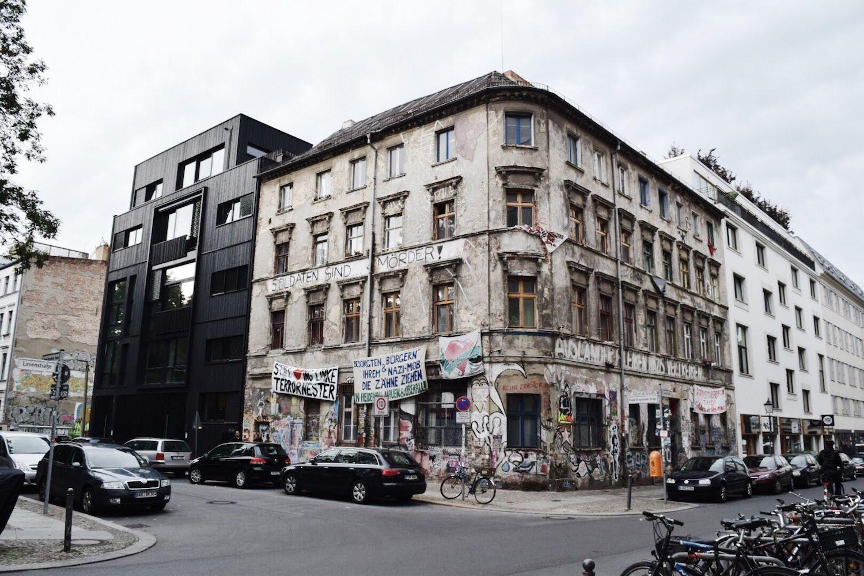 Berlin Architecture Mitte Juxtaposition