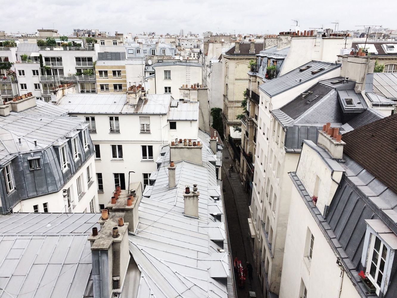 Le Marais Rooftops, Paris