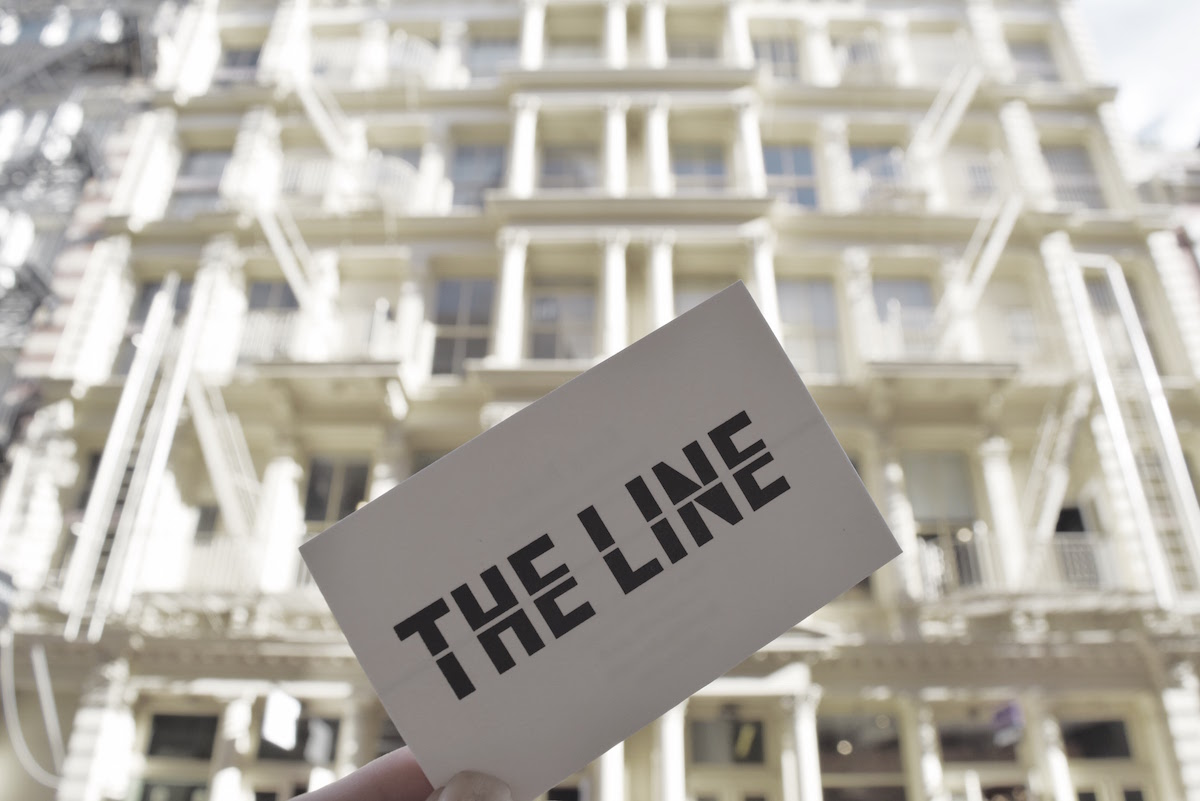 The LINE business card