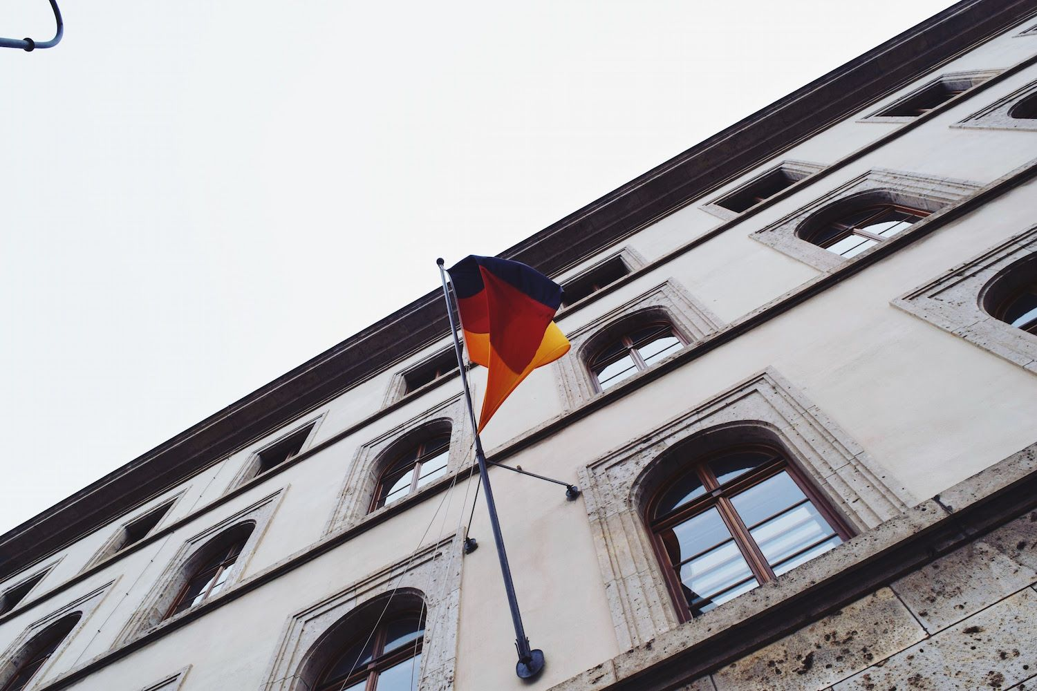 A German Flag in Munich