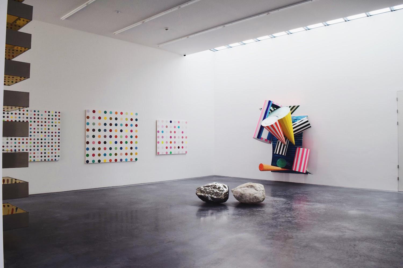 Damien Hirst & Frank Stella works, Sammlung Froehlich, Germany