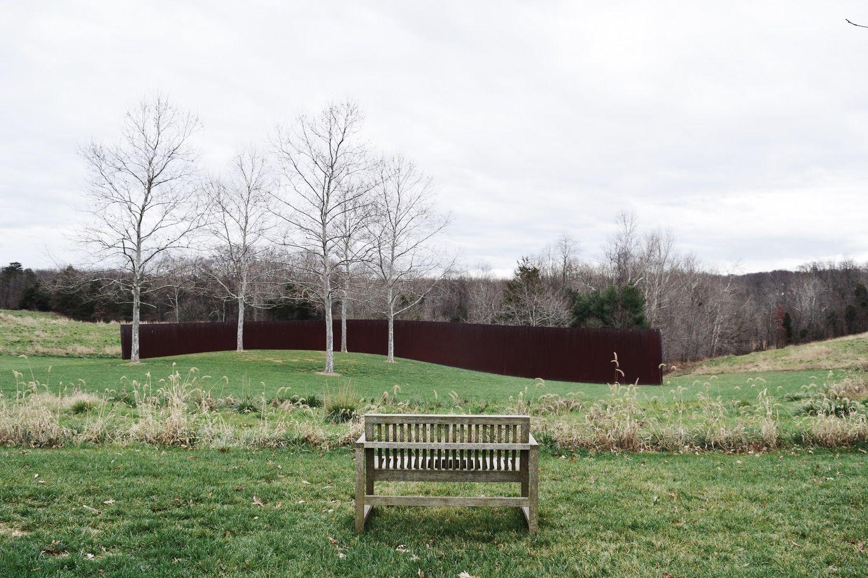Richard Serra Contour 290, 2004 at Glenstone