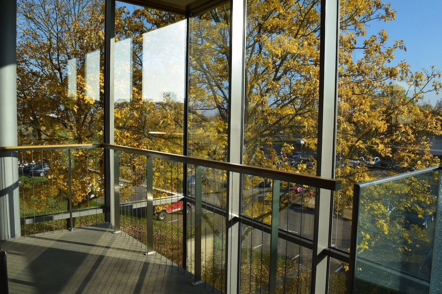 Second Floor View of Sammlung Froehlich, Germany