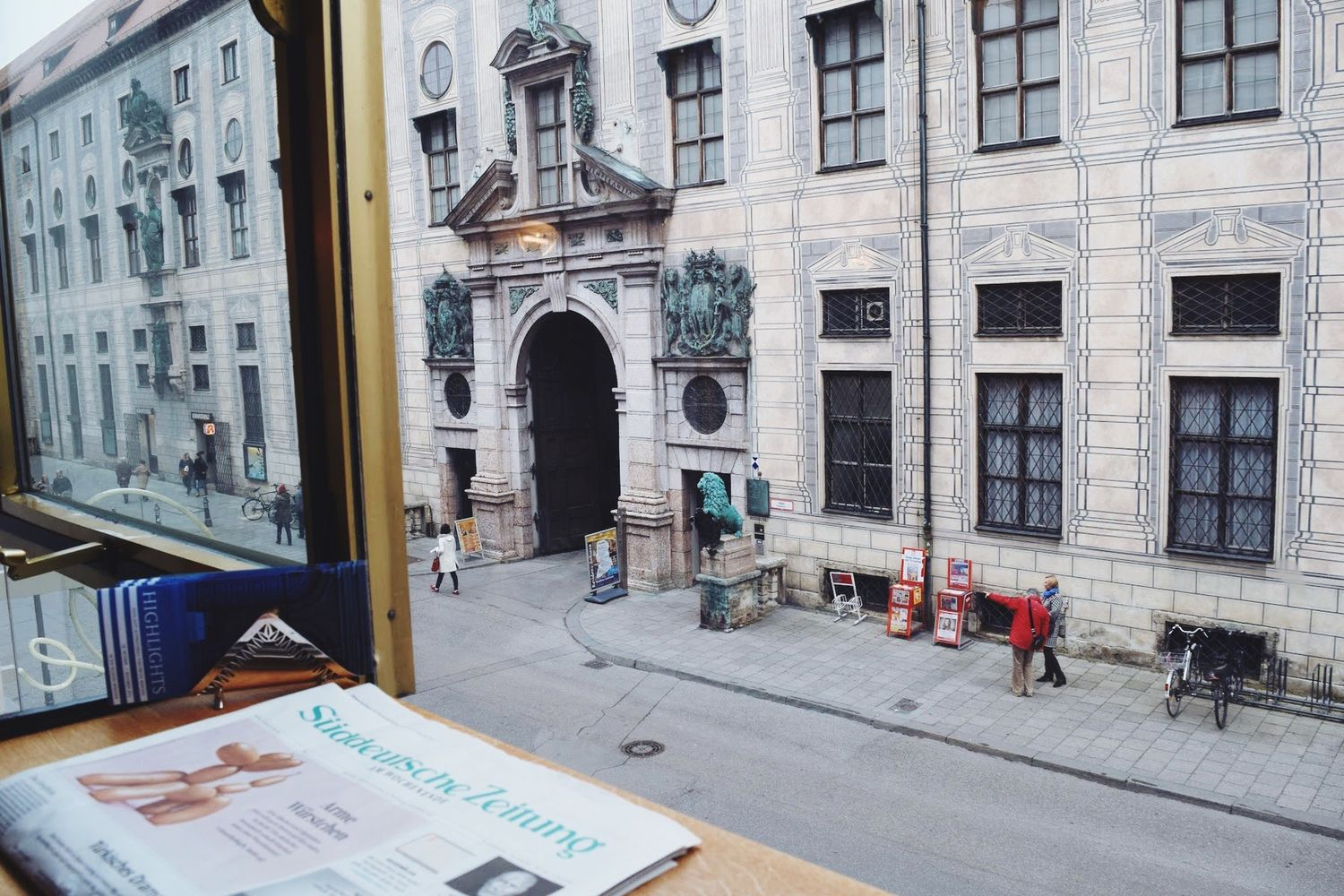 Stereo Cafe Munich View