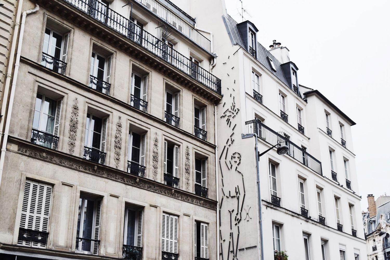 Architecture in Paris   Black Iron Balconies