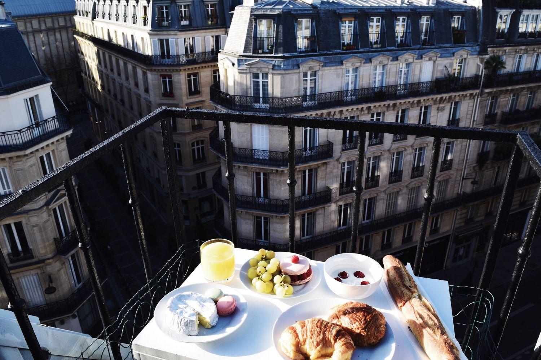 Breakfast in Paris at Home