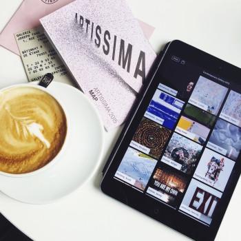 Cappuccino at Artissima