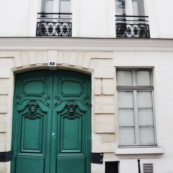 Green Doors of Paris