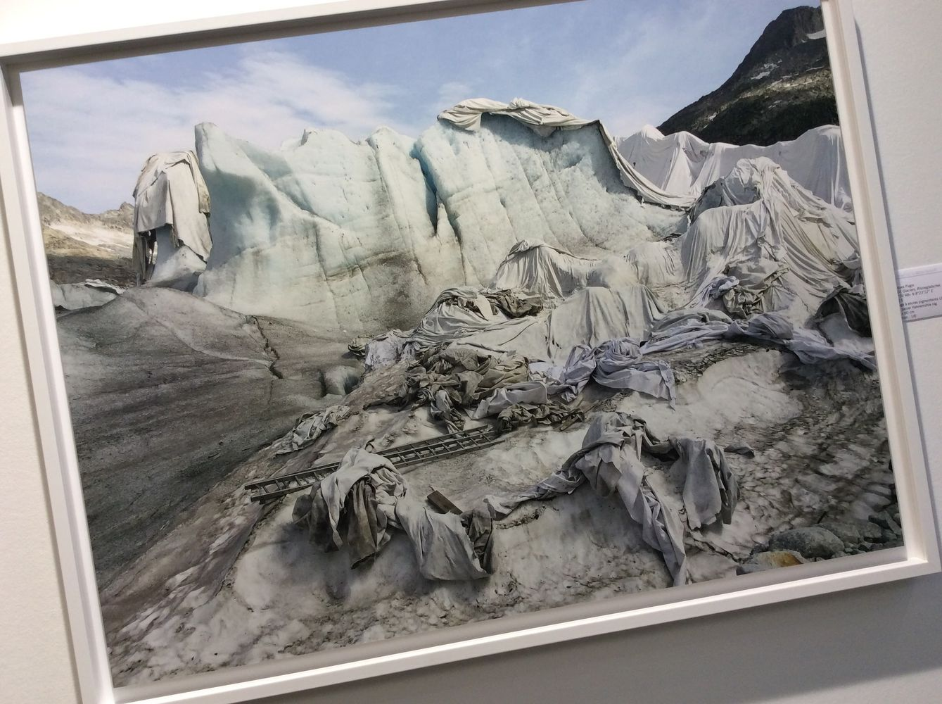 Jacques Pugin, #001 Glaciers, 2015