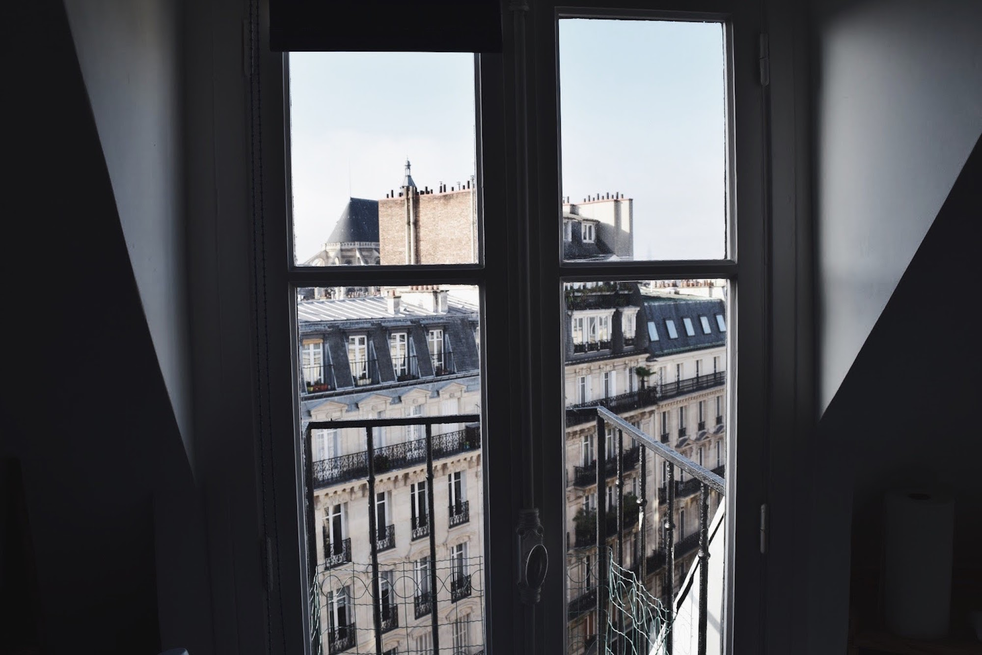 View from My Apartment Paris Door