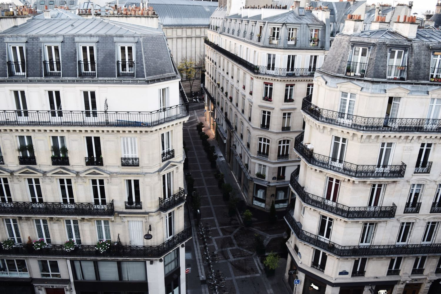 View from My Apartment Paris Rue Marcel Marcel