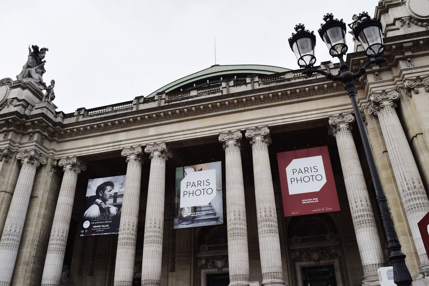 Paris Photo Fair Entrance Grand Palais