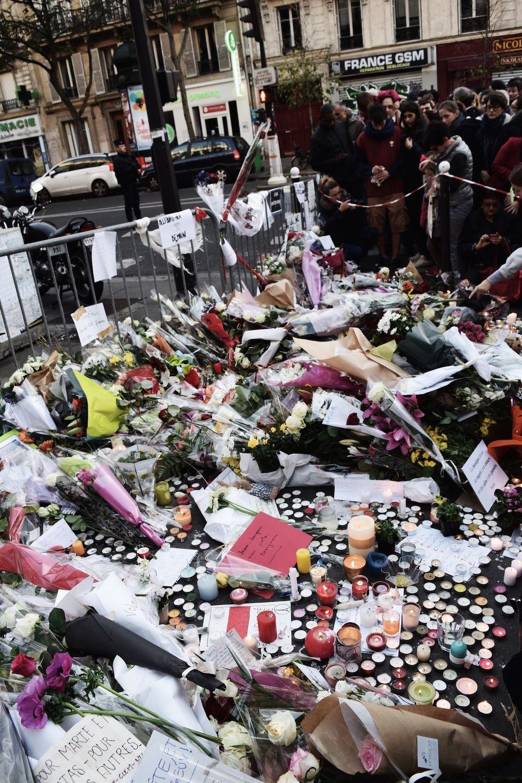 Paris Terror Attack Memorials