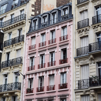 Pink Architecture Paris