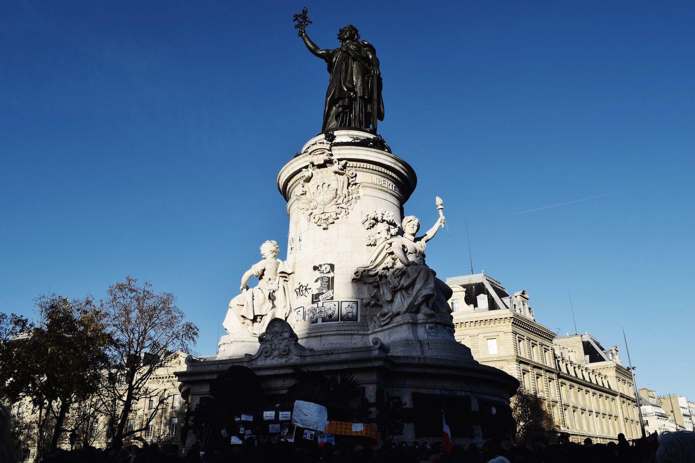 Place de la République Marianne