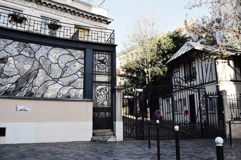 Jean Renoir's house on Rue Frochot