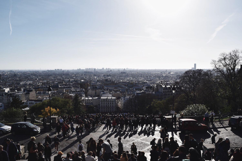 Sacré Coeur View of Paris