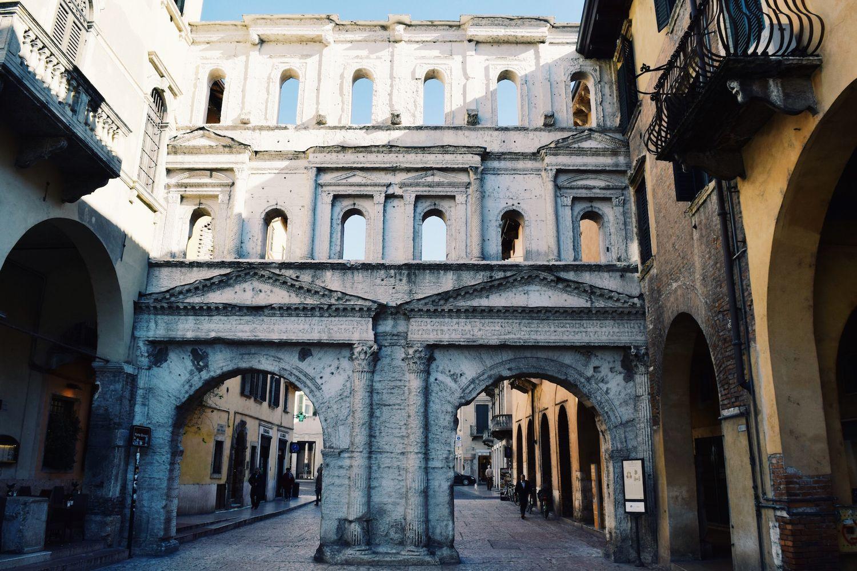 Porta Borsari, Verona, Italy