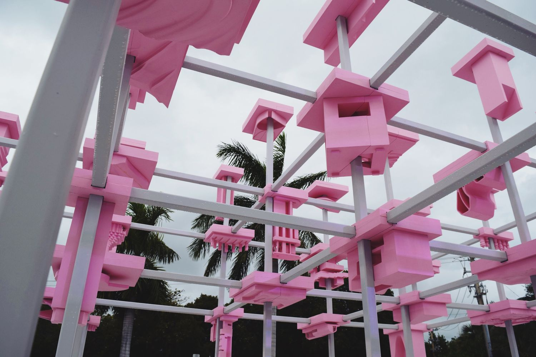 Design Miami Entrance