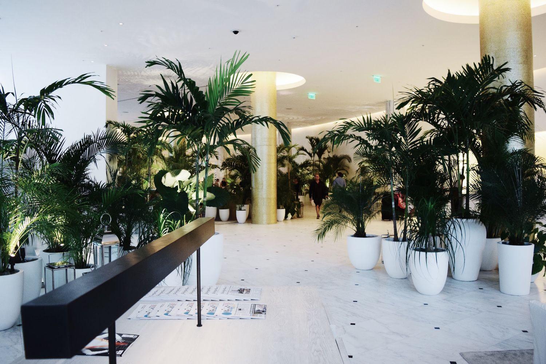 Lobby Miami Beach Edition Hotel