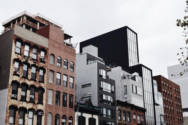 Minimal Architecture Bowery Street NYC