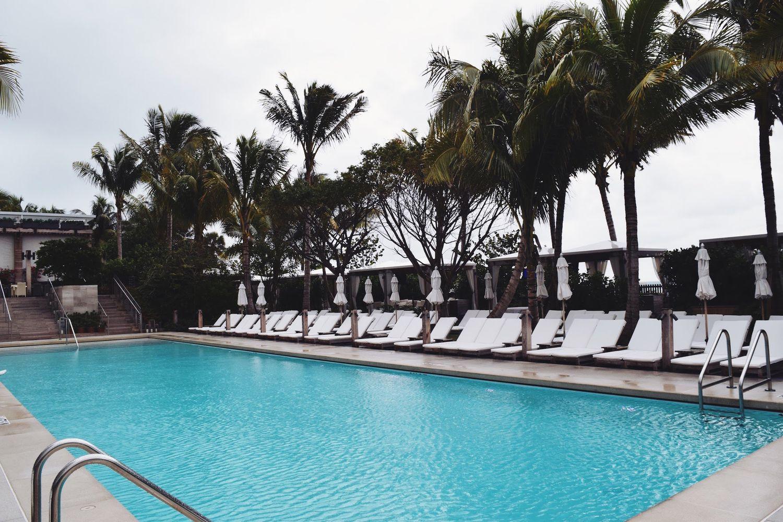 The Miami Beach Edition Hotel Pool