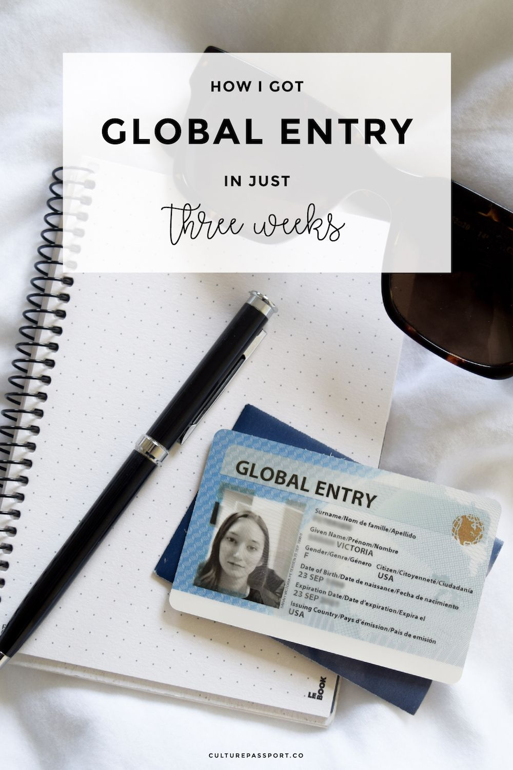 Get global entry quickly, get global entry fast, get global entry in a few weeks, Global Entry Application, Applying for Global Entry