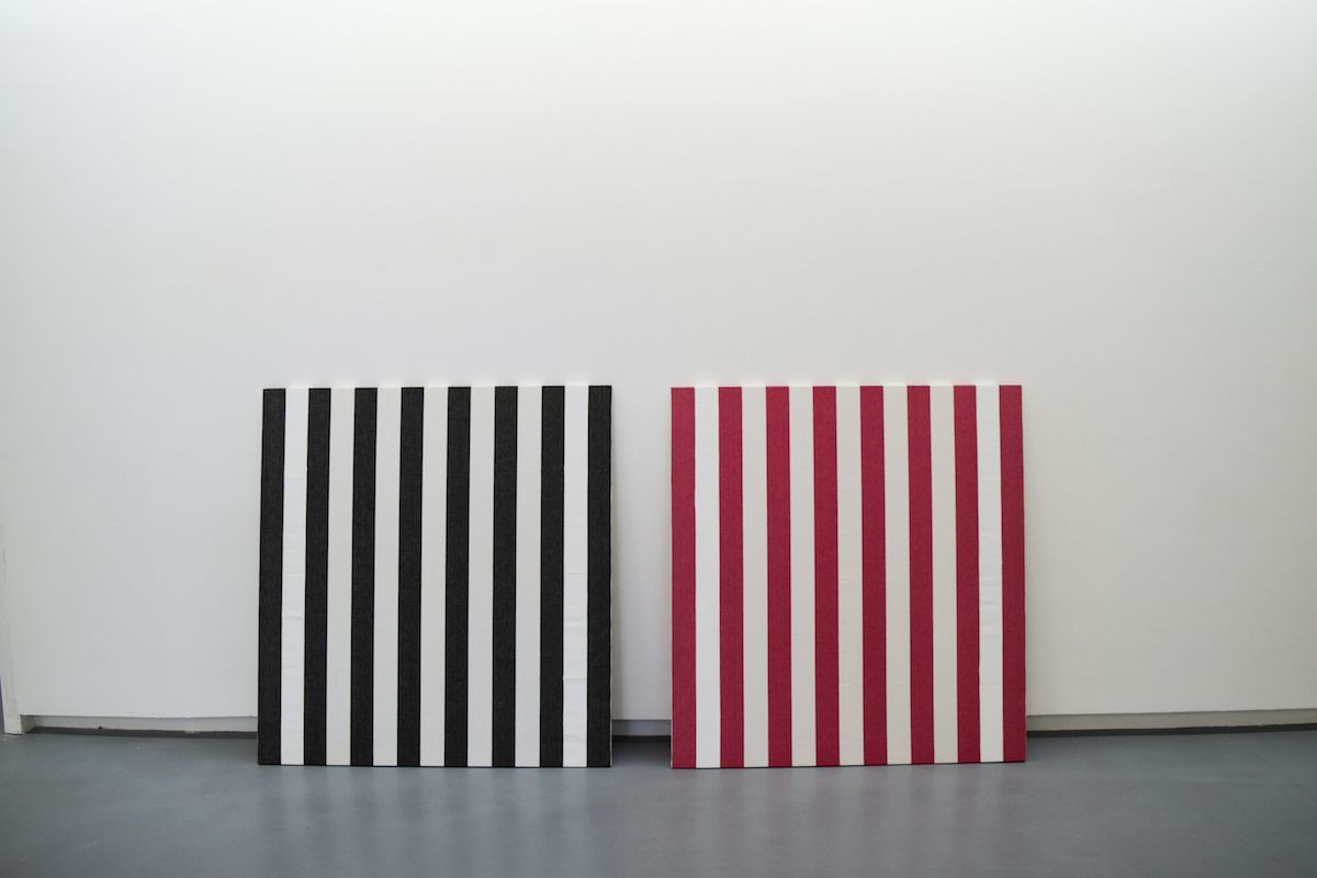 Daniel Buren, Collection Lambert