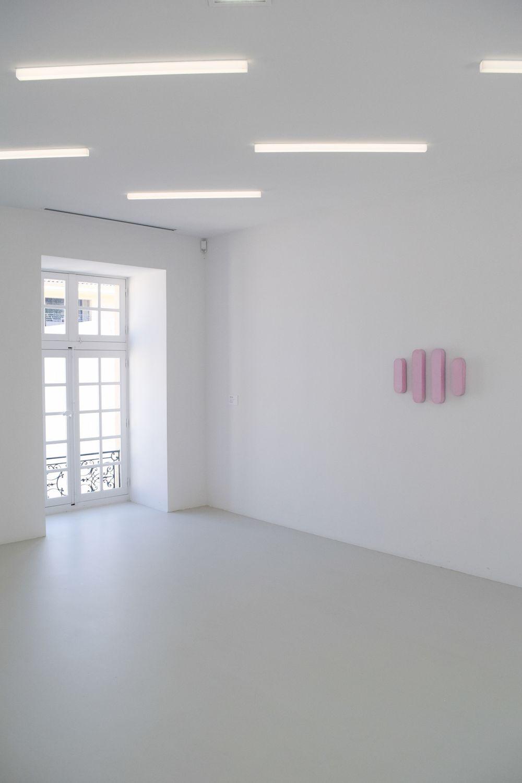 Collection Lambert, Richard Tuttle's Pink Oval Landscape