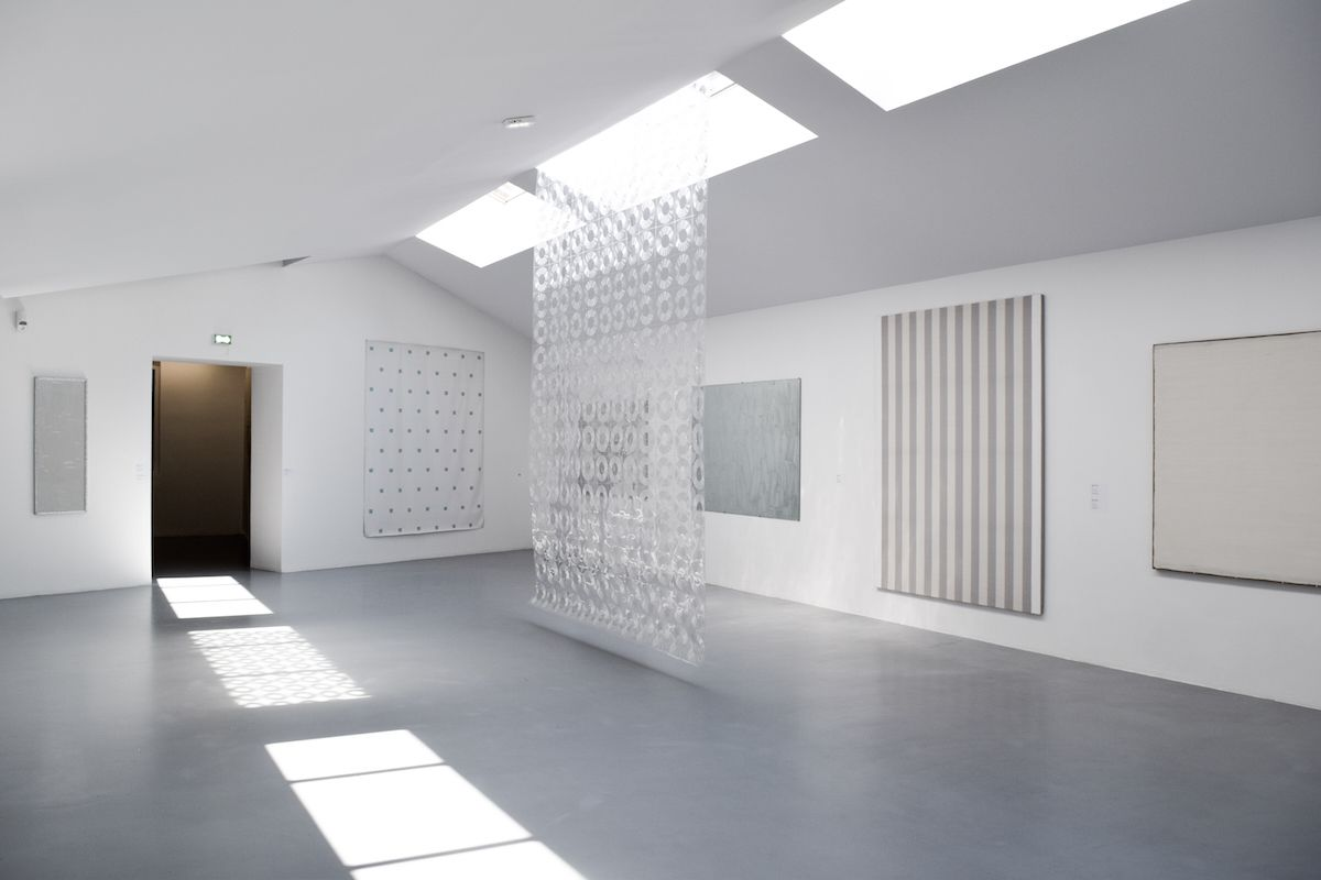 Minimal room at the Collection Lambert