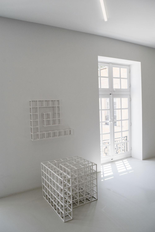 Collection Lambert Sol LeWitt's Five Square Modular Piece