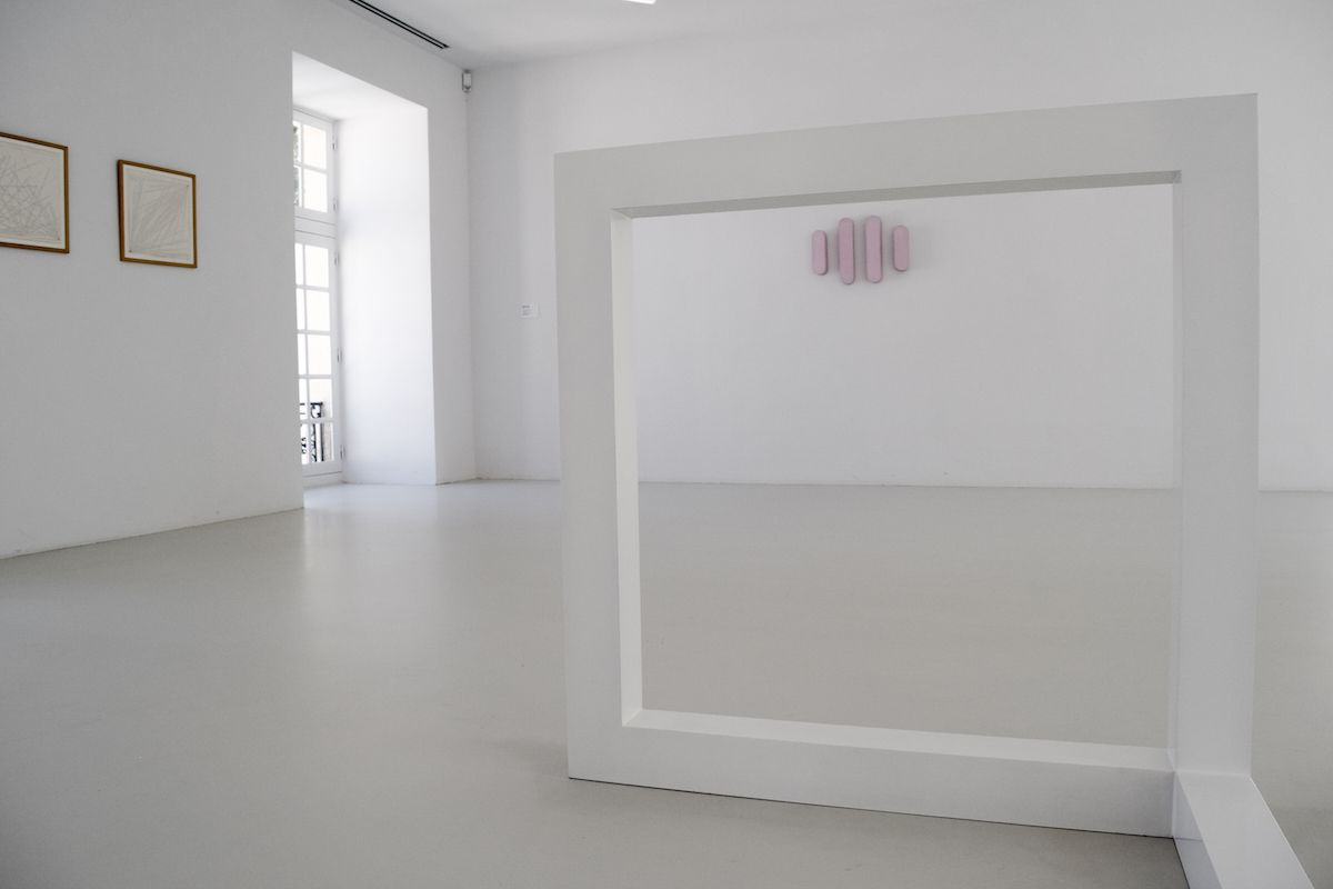 Collection Lambert Sol LeWitt's Incomplete Open Cube, 7 Parts, Variation No. 6