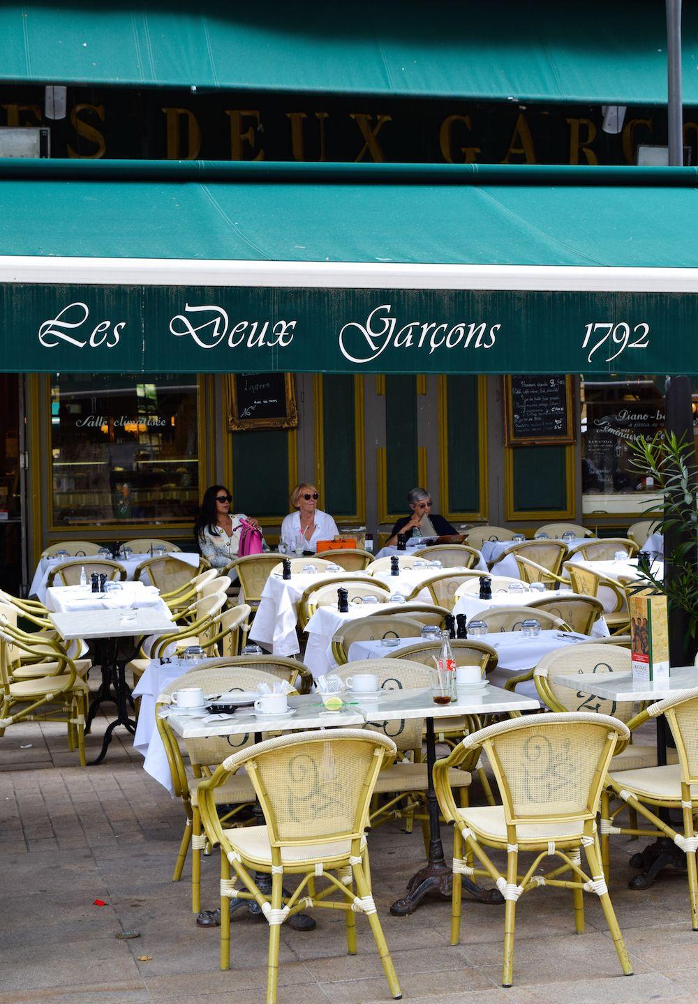 Les Deux Garçons, Aix-en-Provence, France