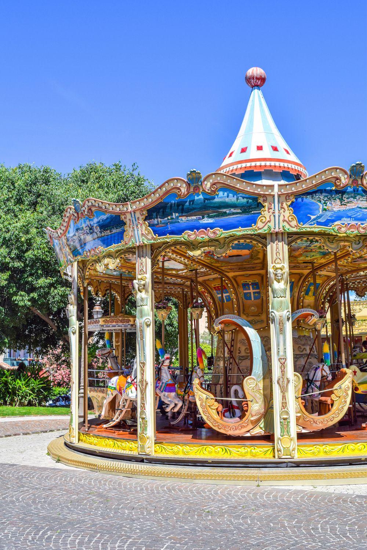 Carousel, Antibes, France