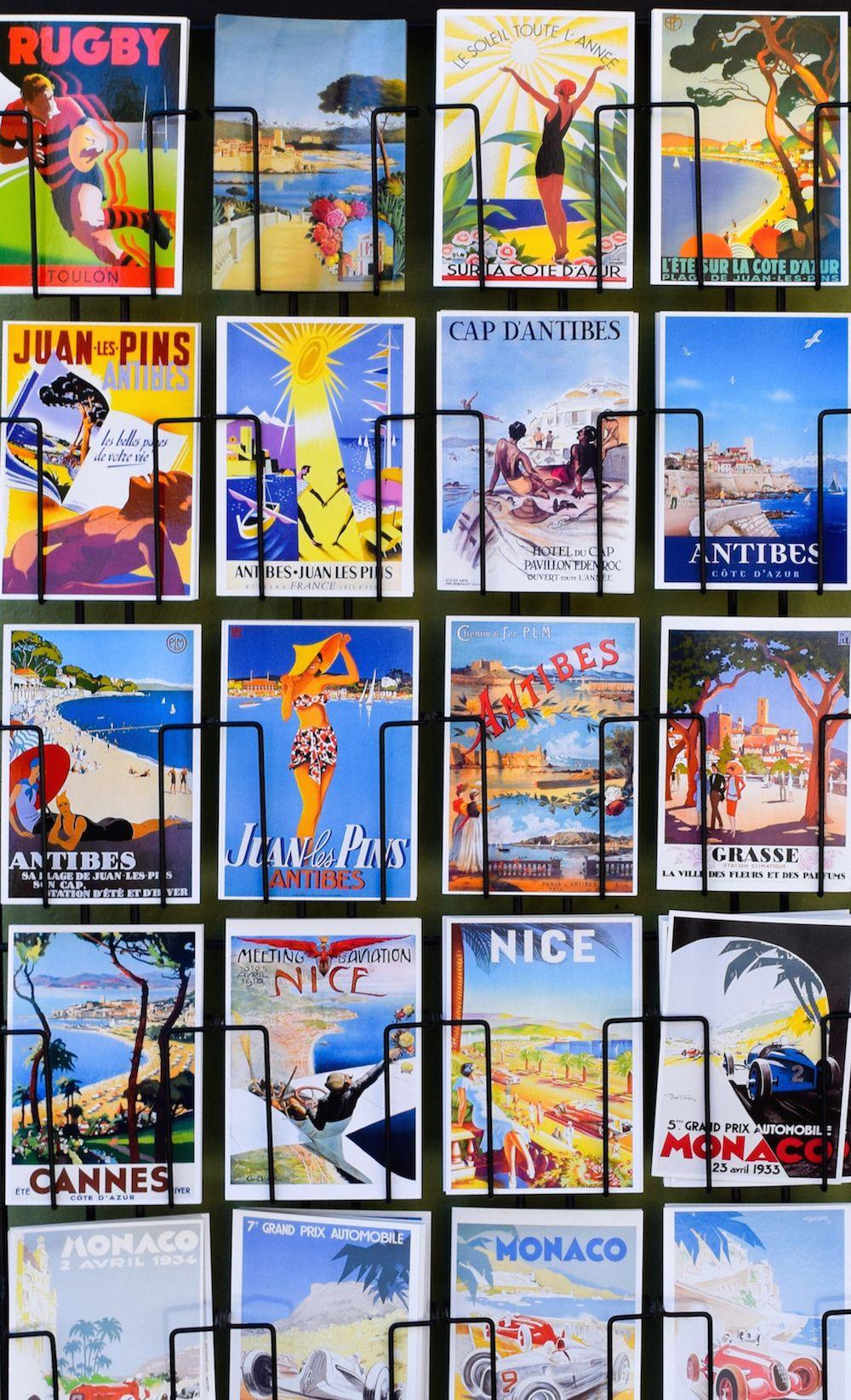 Antibes Postcards