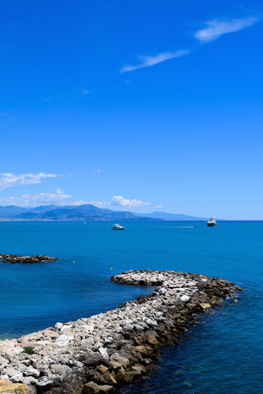 Antibes Coast, South of France