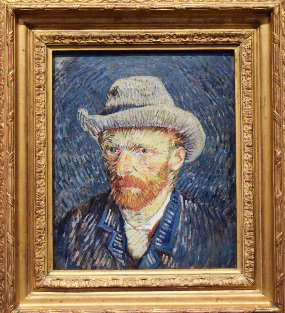 Fondation Vincent Van Gogh Arles - Autoportrait au chapeau de feutre gris / Self-Portrait with Grey Felt Hat