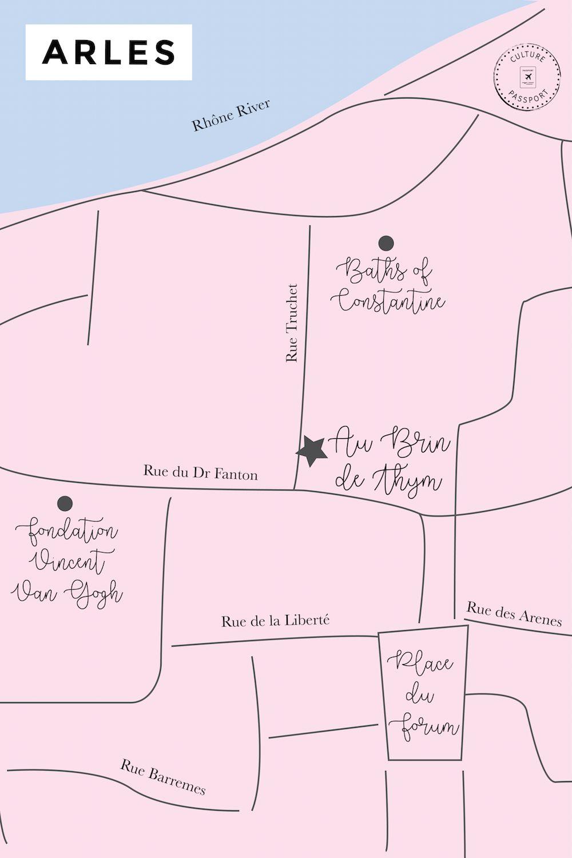 Au Brin de Thym Map