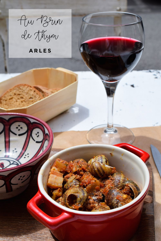 Au Brin de Thym Arles