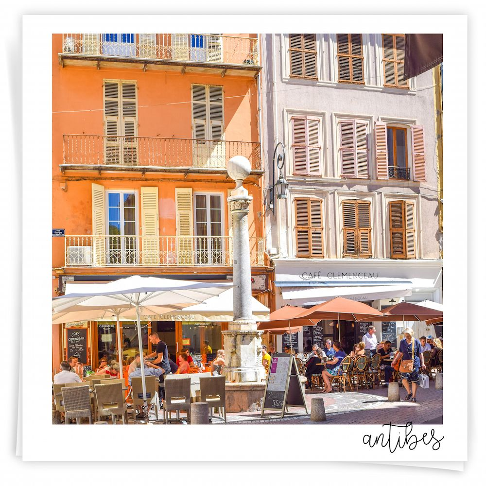 Antibes, Cafe Clemenceau