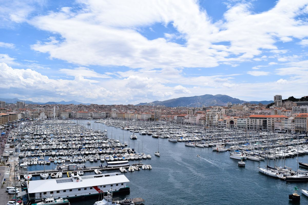 View from Fort Saint-Jean, Marseille
