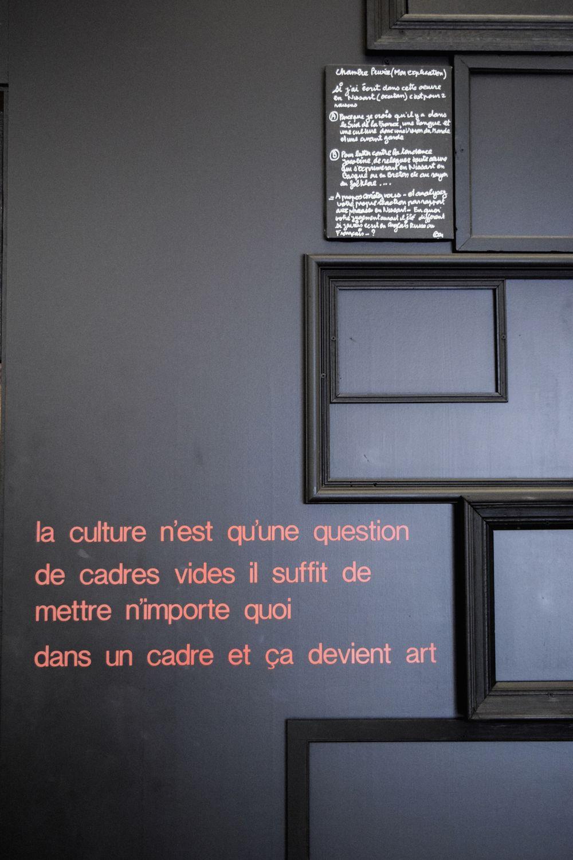Ben Vautier, La cambra de Ben, 1999