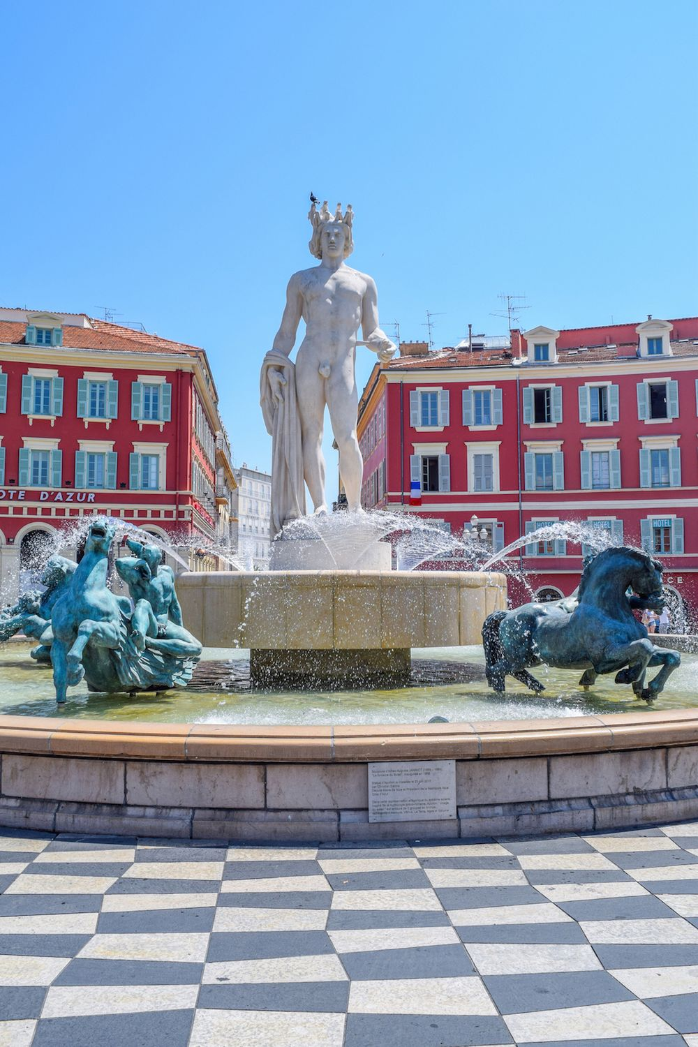 Statue in Nice Vielle Ville, France: Nice, France Travel Guide