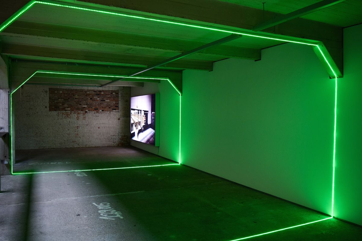 Haroon Mirza, Digital Switchover, 2012