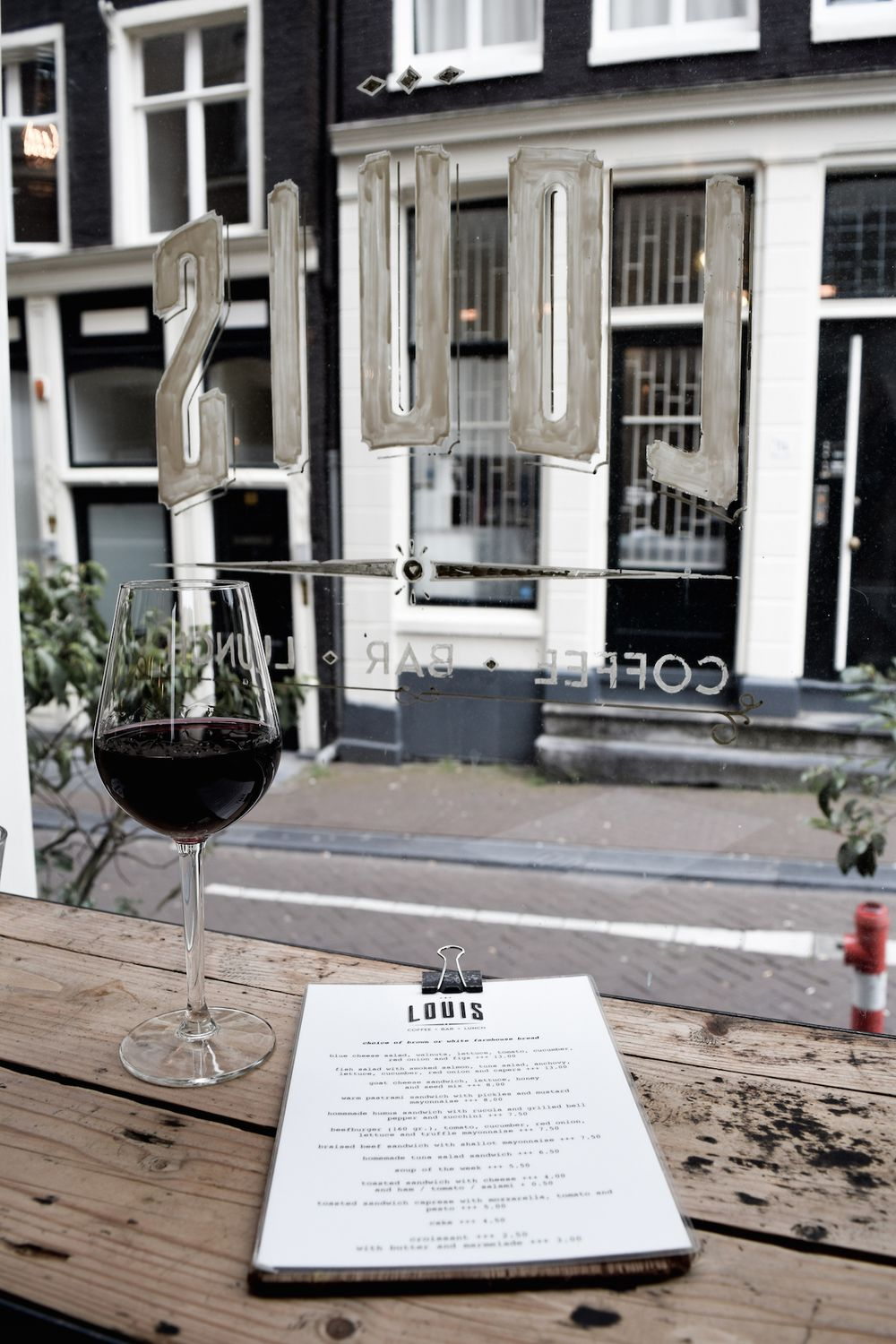 Lunch at Louis Restaurant in Amsterdam