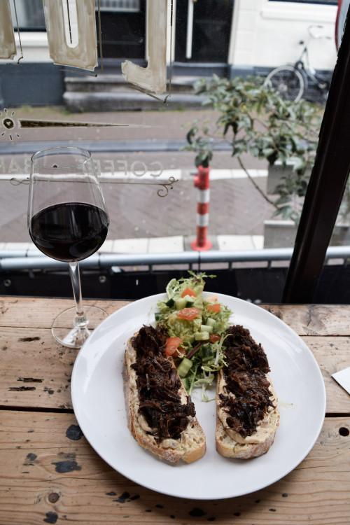 Lunch at Louis Restaurant in Amsterdam