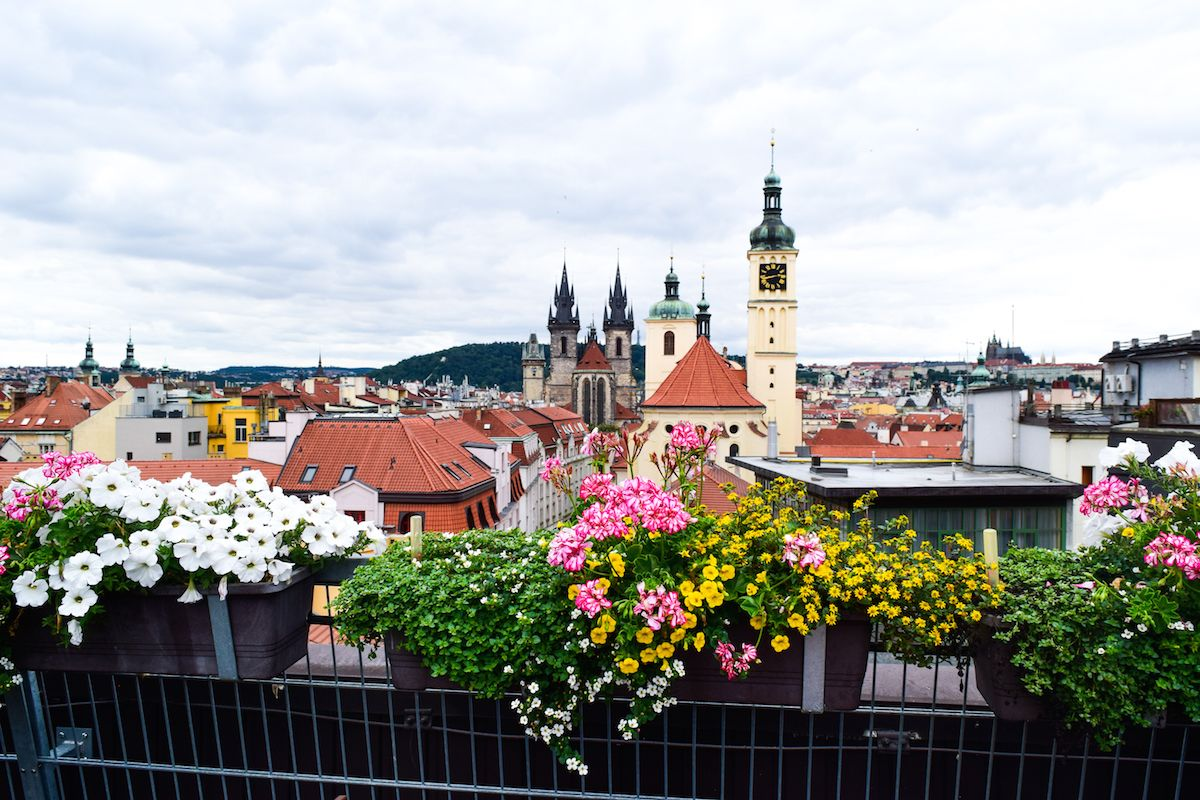 Best View in Prague, Views from T-Anker, Prague