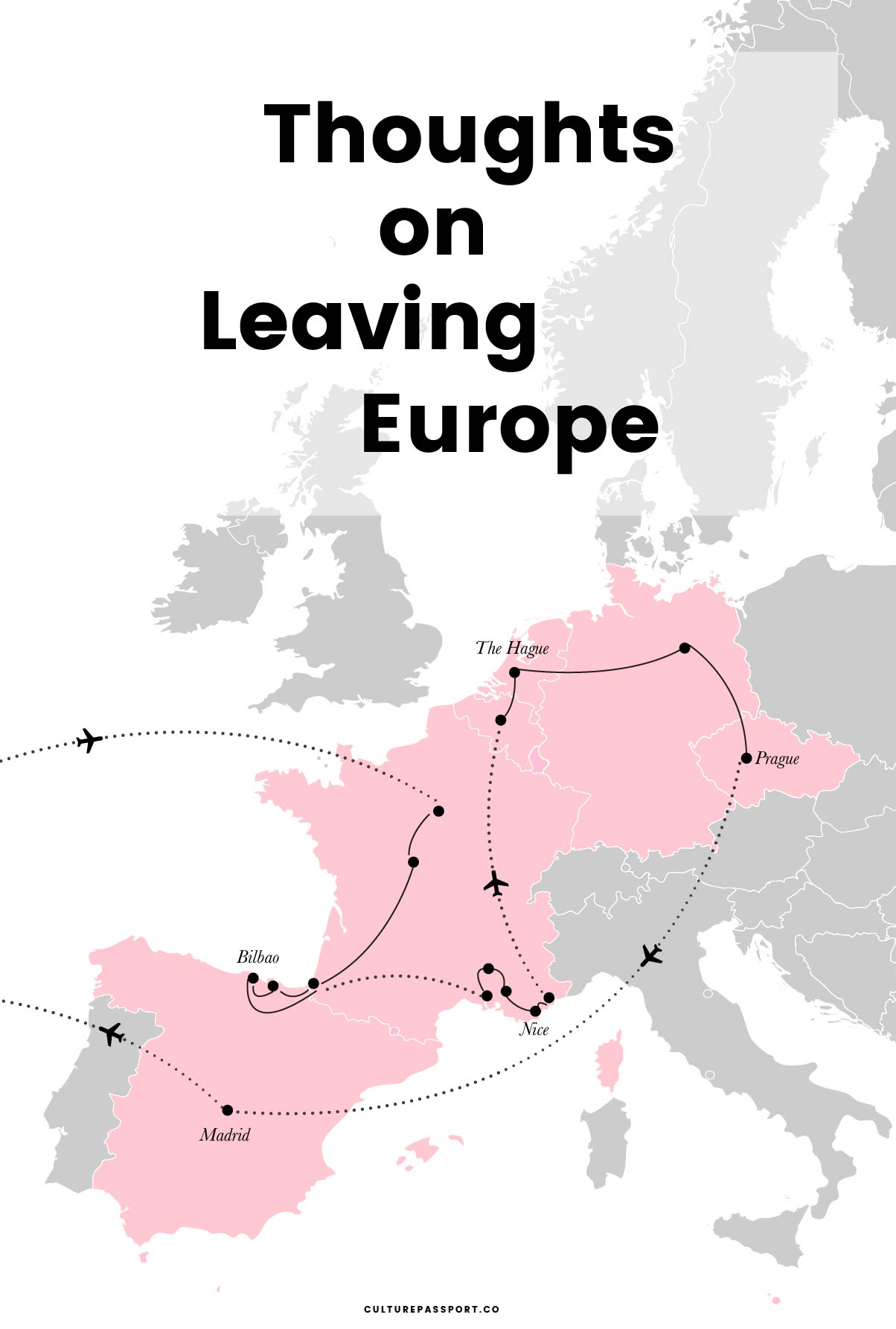 Thoughts on Leaving Europe