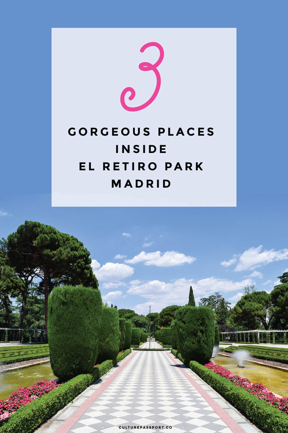 Don't miss seeing these three beautiful spots during your trip to Madrid!